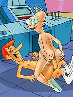 The yummiest plump butts of gay cartoon world